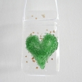 Green heart light catcher
