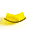 Yellow glass chakra bowl