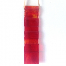 Long light catcher - mixed reds - fire element