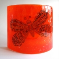 Butterfly Sconce - large light and candle screen