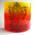 Ganesh Sconce - large light and candle screen