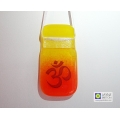 Om light catcher - orange and yellow blend