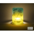 Dragonfly summer meadow sconce - tealight candle screen