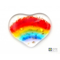 Hand held rainbow, pocket hug, worry stone