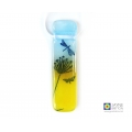 Dragonfly summer meadow fused glass light catcher