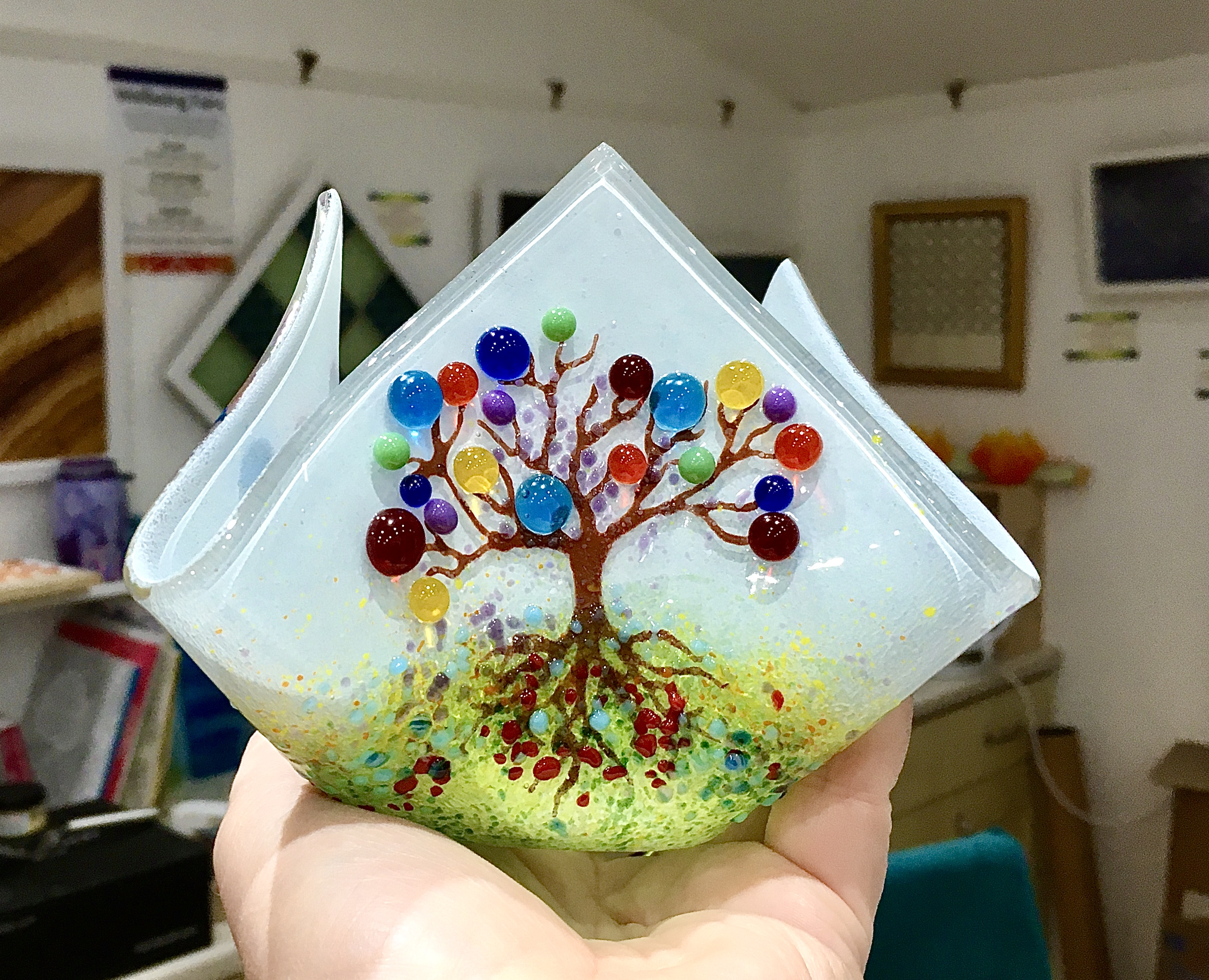 Make a candle vase and two small bowls - Glass fusing workshop